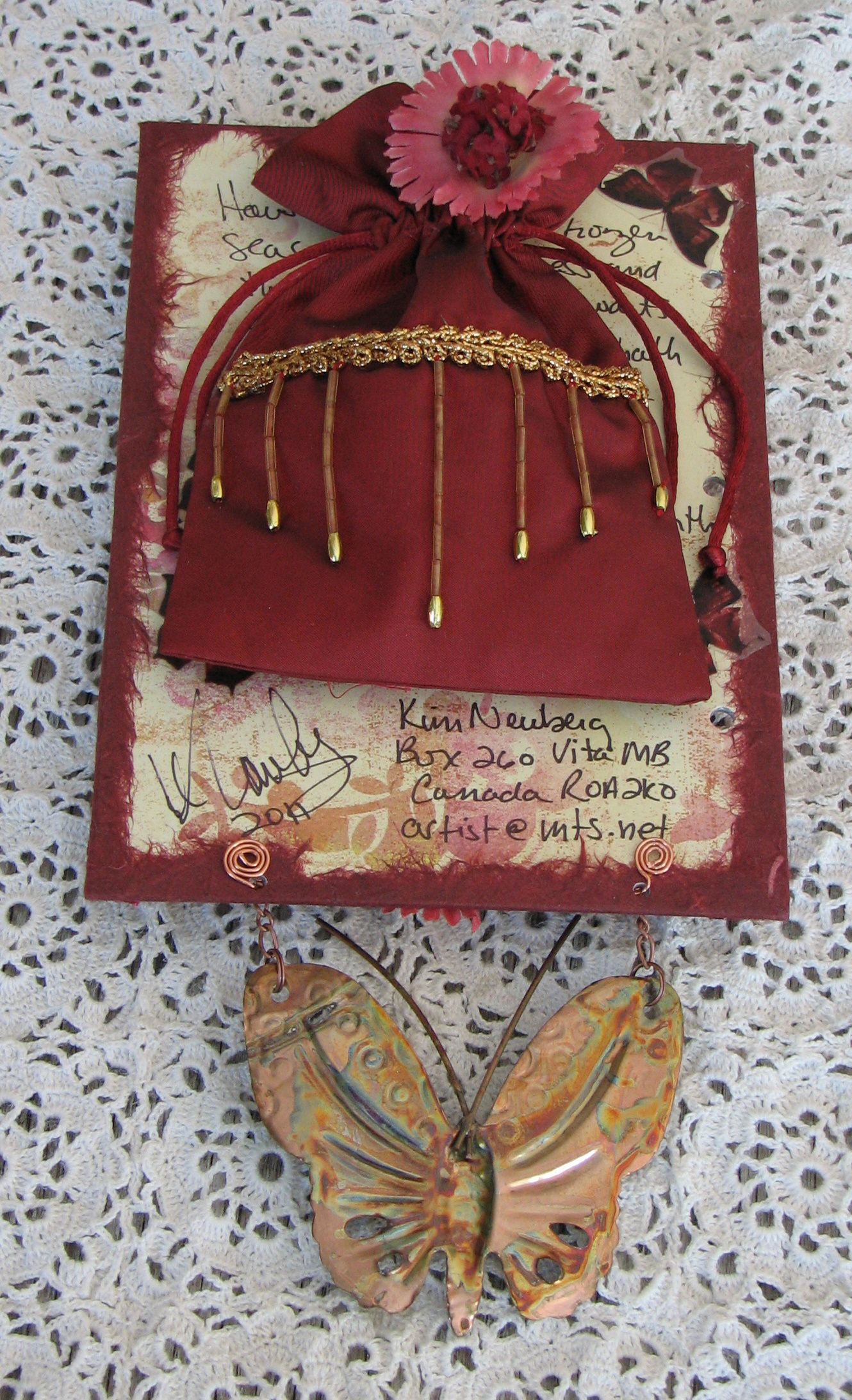 2011 Interpretations Altered Art Book