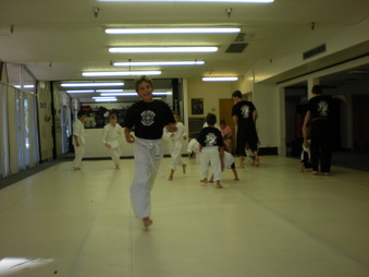 Brian's Karate Class - He gets Yellow