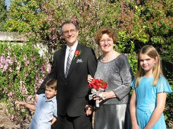 Glen and Judy and family