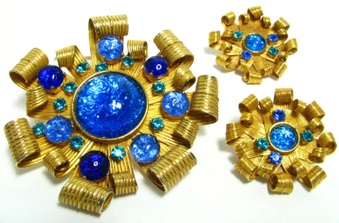 Designer Brooch Sets