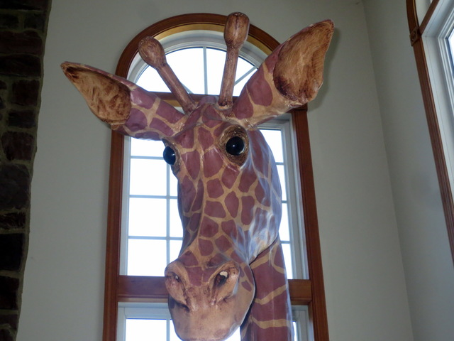 12' Giraffe Sculpture