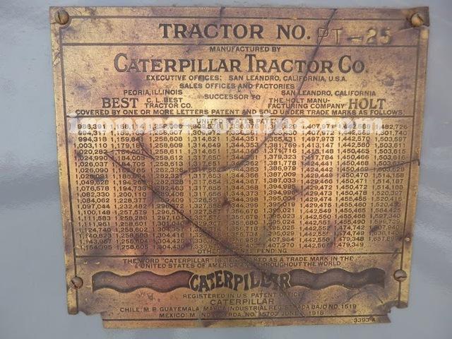 1929 Caterpillar Model 10