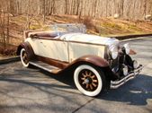 1930 Buick Convertible Rumble Seat