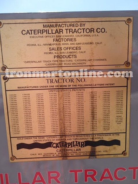 1930 Caterpillar Model 10 High Crop