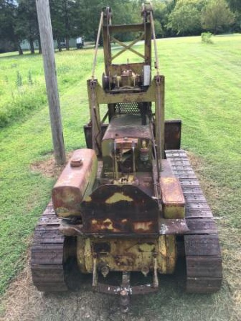 Antique Cat D4 dozer Caterpillar Club