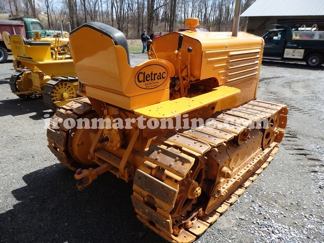 1944 Clectrac BGSH Crawler Tractor