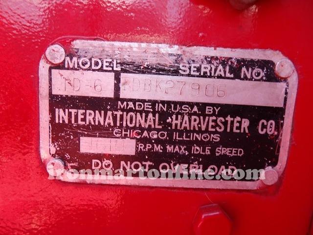 1951 International TD-6 Dozer