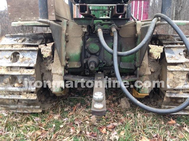 1956 John Deere 420C Crawler Tractor Dozer