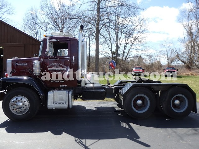 1973 Brockway Tandem Axle Tractor
