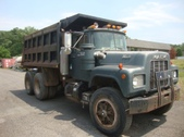 1985 Tandem R-Model Mack Dump Truck