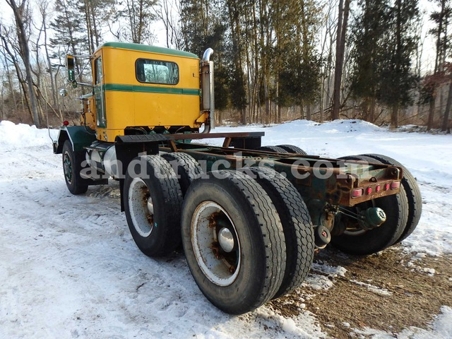 1986 Autocar Heavy Duty Haul Truck Used For Sale