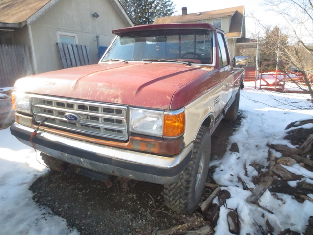 Ford F-250 XLT with Plow