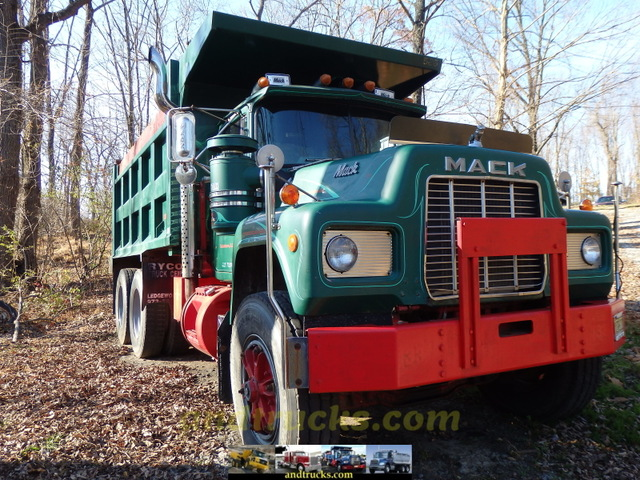 R-Model Mack Tandem Axle Dump Truck