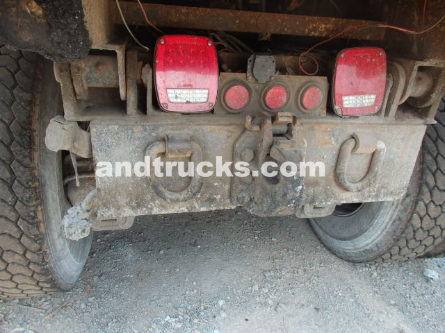 Tandem Axle Mack Dump Truck RD690S Model for sale