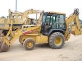 1996 416B Cat Back Hoe