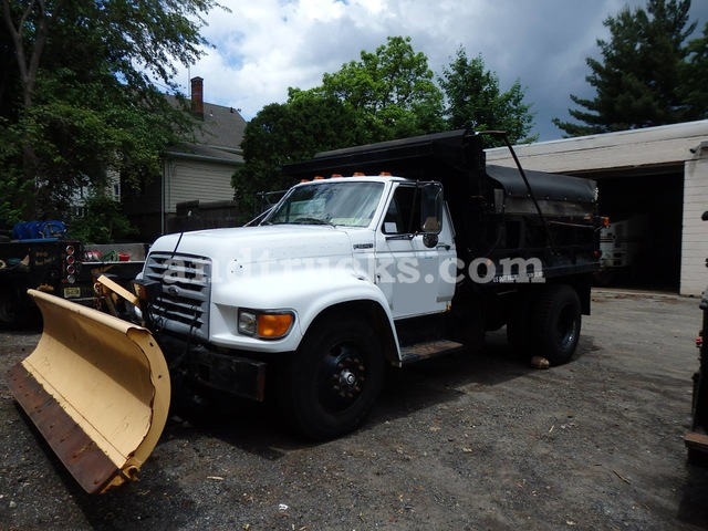 Plow Trucks For Sale >> 1997 Ford F Series Plow Truck With Salter Used For Sale