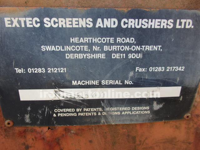 1999 Extec Screener 5000S