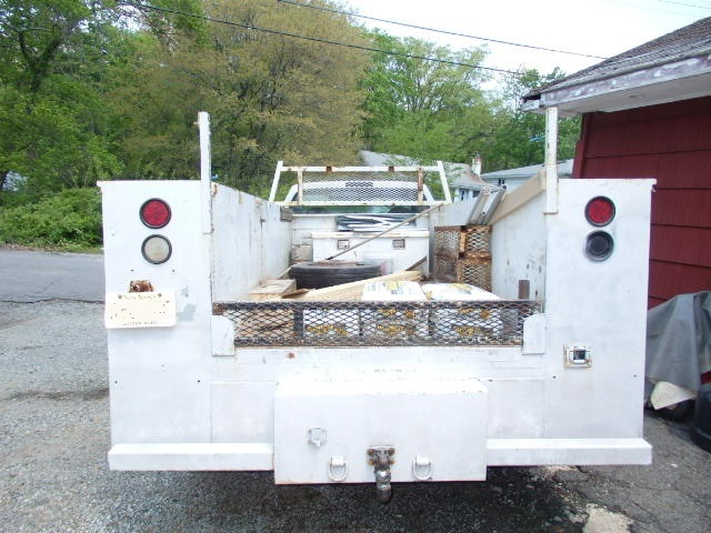 2000 F-550XL Super Duty 2wd Work Utility Body