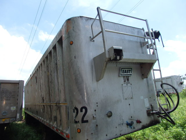2002 East Walking Floor 110 yard Trailer