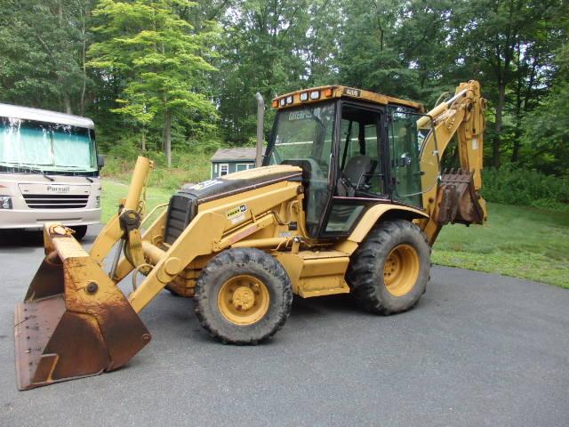 2002 Cat 420D Backhoe 4x4