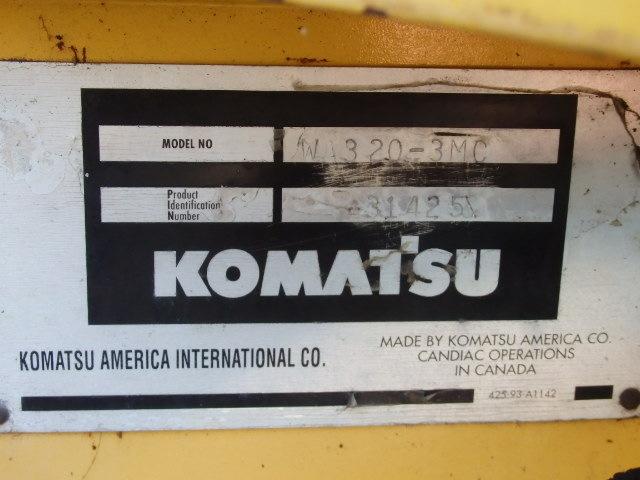 komatsu wa320 for sale