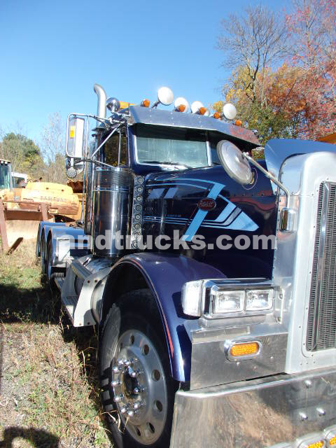 2003 Peterbilt 379 heavy haul tractor