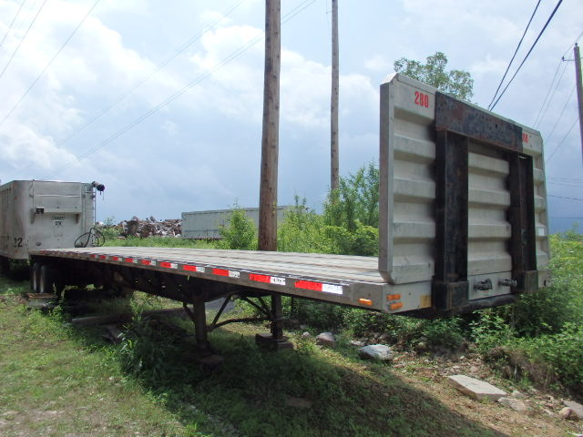 2003 Transcraft Eagle II Spread Axle 48' Aluminum Trailer