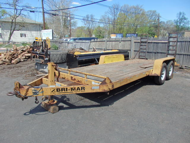 2004 6 Ton Bri-Mar Equipment Trailer