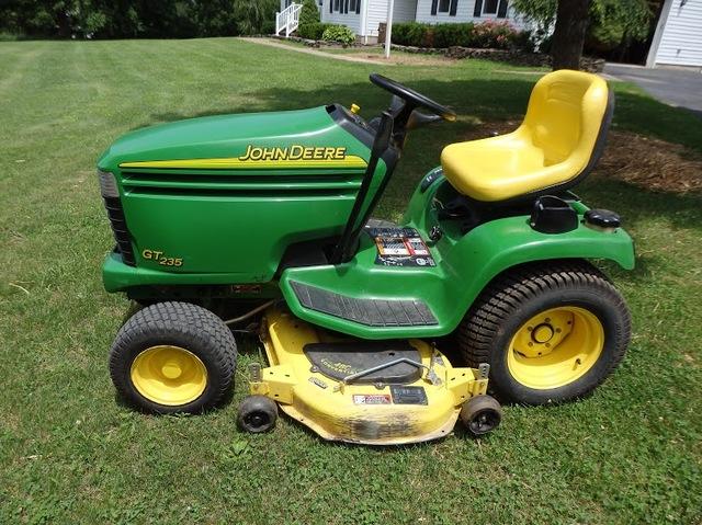 2004 john deere gt235 garden tractor - Used garden tractors for sale by owner ...