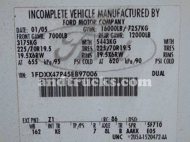 2005 F-450 Super Duty Dump Truck