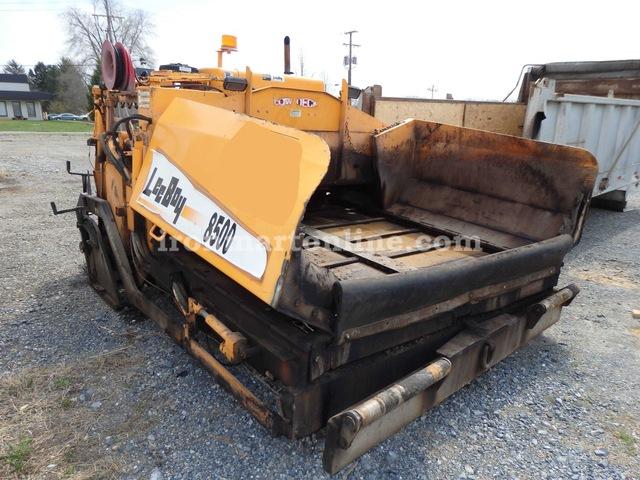 Leeboy 8500 low deck paver used for sale for Leeboy motor grader for sale