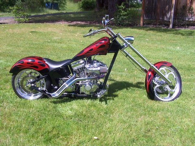 2005 Thunderstruck Chopper