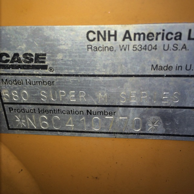 2006 Case 580 Super M Series II