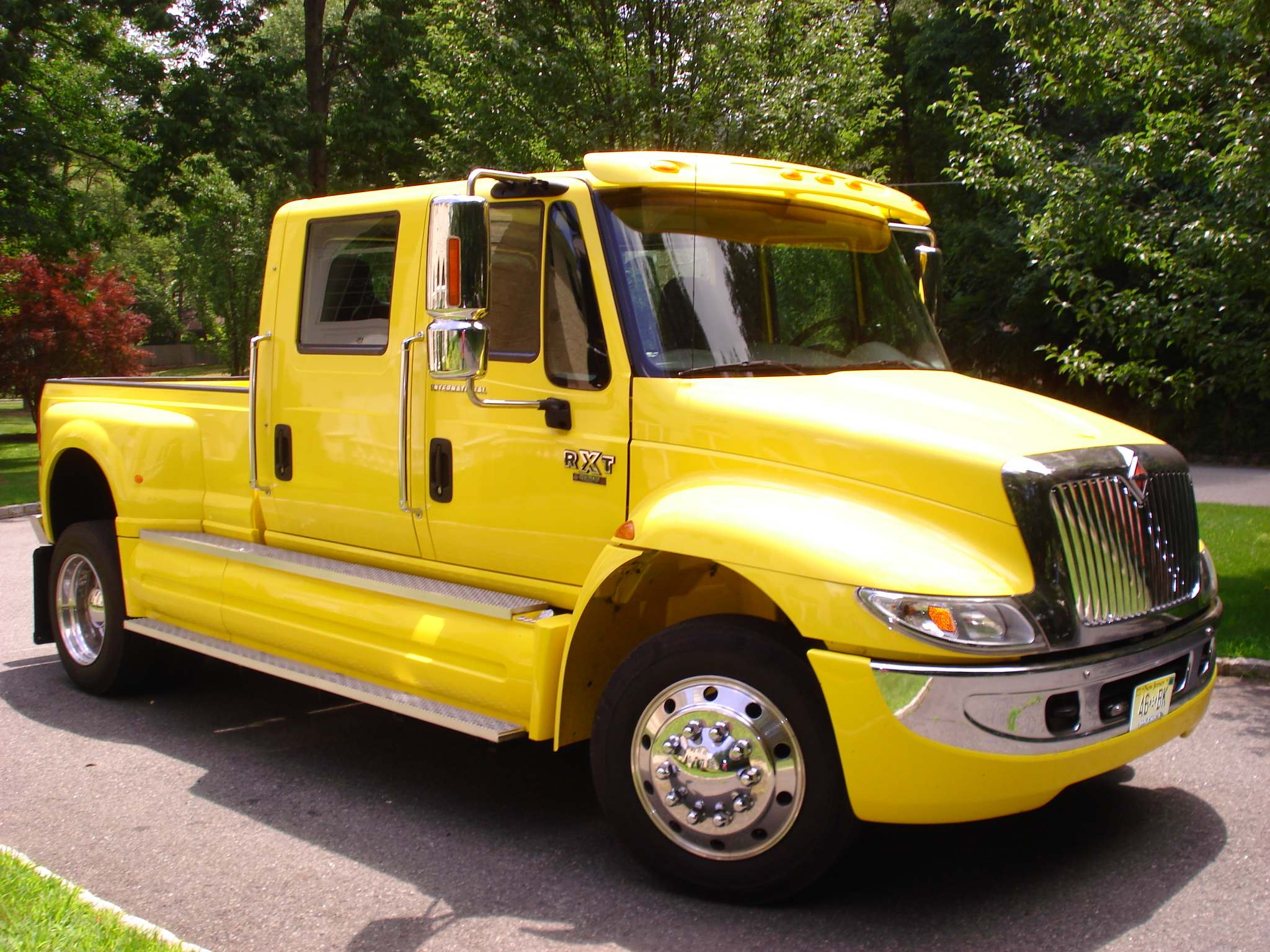 International Cxt Price >> 2007 International Rxt Medium Duty Trucks Pick Up Truck For Sale In