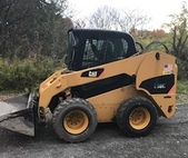 2007 Caterpillar 256C Skid Loader