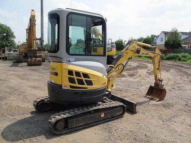 Excavators Of All Sizes