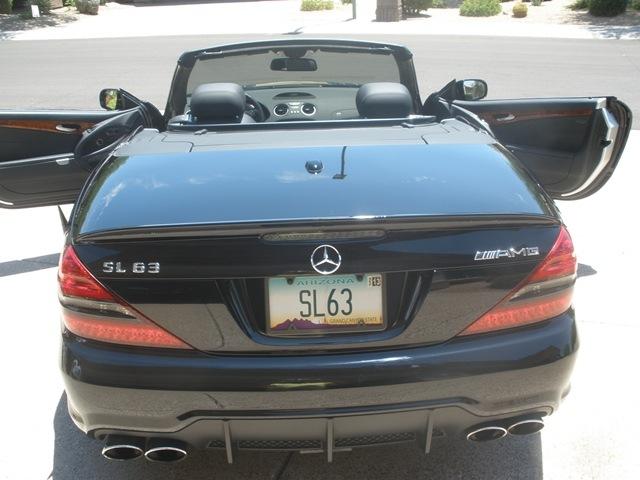 2009 Mercedes-Benz SL63 AMG
