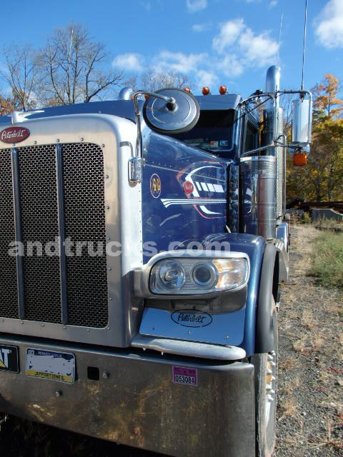 2009 Peterbilt heavy haul tri axle