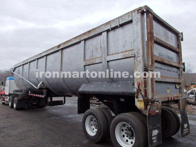 jmh monster 2 end dump trailer for sale