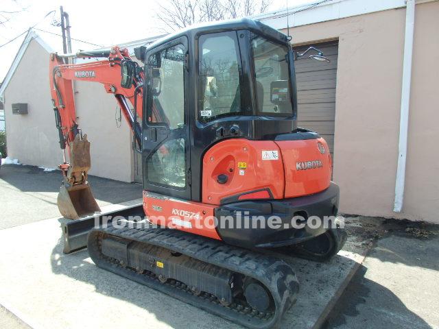 2013 Kubota KX 057-4 mini Excavator