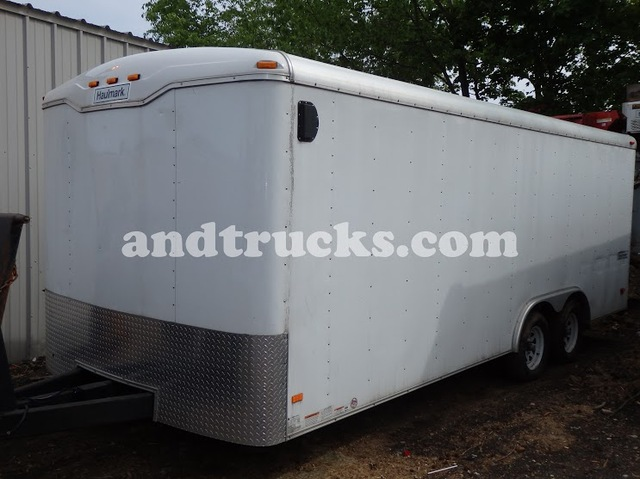 \20ft Enclosed Landscape Trailer Haulmark