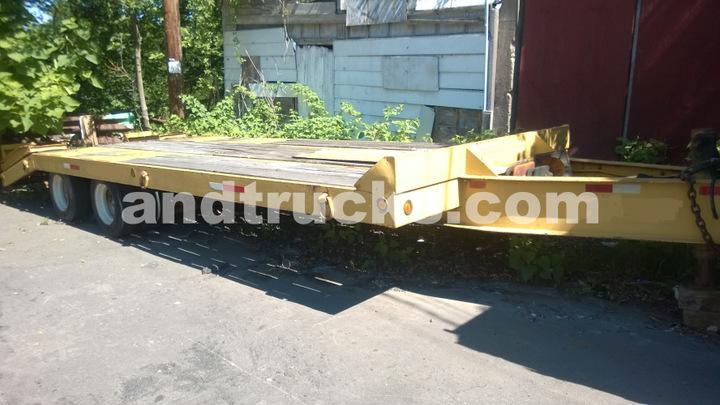 used 20 ton eager beaver trailer