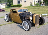 34 Ford 5 Window Coupe Hot Rod