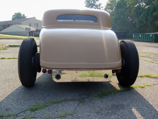 34 Ford 5 Window Coupe Chopped Channeled True Hot Rod