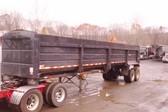 34' Warren Steel Dump Trailer Frameless