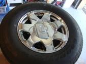 4 Cadillac Escalade 17'' Tires Wheels