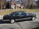 560 SEC Mercedes