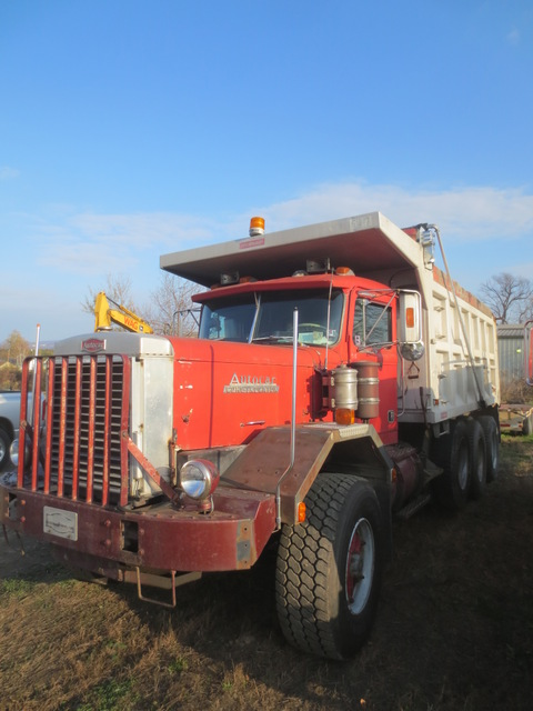 Dump Truck For Sale >> Autocar Tri Axle Dump Truck Used For Sale