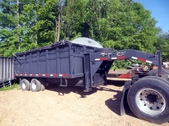 Big Tex Gooseneck Dump‏ Trailer