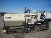 blaw knox asphalt paver